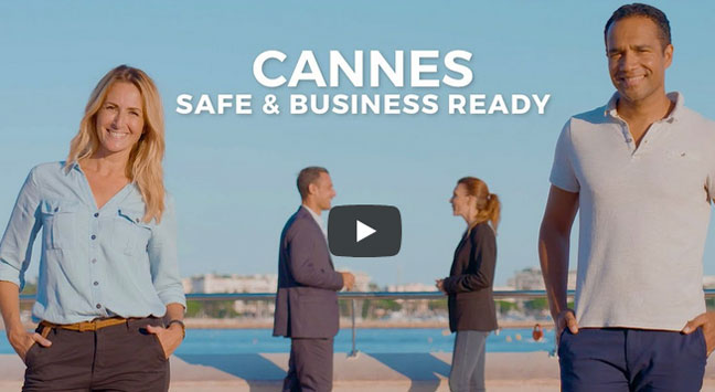 "Vidéo ""Cannes safe & business ready"""