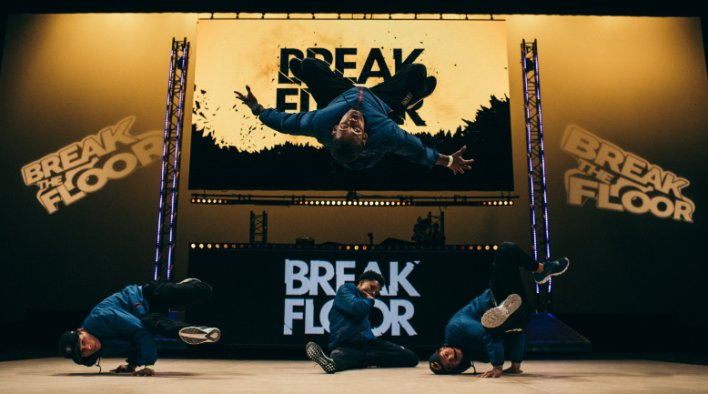 BREAK THE FLOOR PALAIS DES FESTIVALS CANNES
