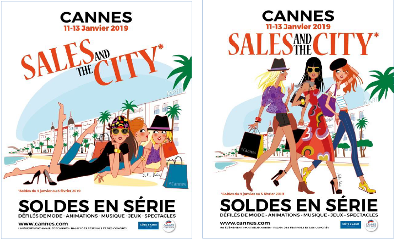 visuels Sales and the city Cannes