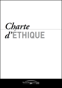 Charte Ethique du Palais des Festivals et des Congrès de Cannes